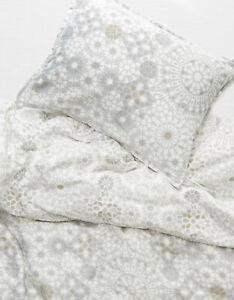 Dormify Gray Mosaic Print Reversible Duvet & Sham Set Twin Extra Long (XL) Beach