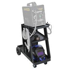 Welding Cart for MIG TIG Flux Welder Heavy Duty Swivel Wheels Universal FEDEX