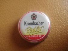 Gebrauchter Kronkorken Krombacher Radler Alkoholfrei (Innenseite: 1,5 Mio. €)