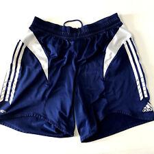 Men's Adidas Blue White Running Shorts Medium