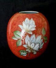 Vintage Royal Porzellan Bavaria KPM hand painted porcelain vase 8 inches