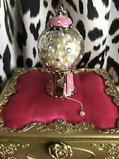 Betsey Johnson Candyland LARGE Candy Gumball Gum Ball Machine Pearl Necklace
