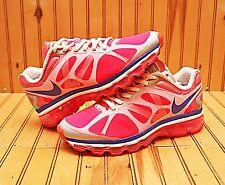 Nike Air Max + 2012 Size 6Y - Pink Flash PP Purple Metallic Silver - 488124 600