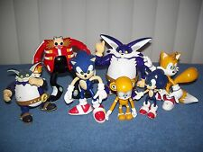 Lot of Sega Sonic Hedgehog Tails Dr Robotnik Big Cat Action Figures - Toy Island