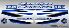 yamaha banshee full graphics decals kit THICK AND HIGH GLOSS