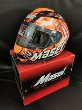 NEW Masei 833Orange Monster Full Face Motorcycle Harley Helmet Free Shipping M/L