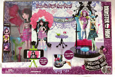 Monster High Dance Fright Away Draculaura Doll House Girls Kids Play Toy Gift