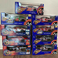 NIB Nascar Winners Circle Diecast Cars 1:24 Scale Lot Of 9