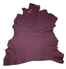 Reduced $ Violet Purple Goatskin Leather Hides Goat Skin