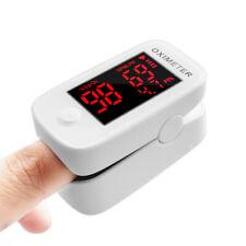 Wave Medical Fingertip Pulse Oximeter Blood Oxygen Saturation Heart Rate Monitor