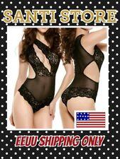 S# Women's Sexy Lingerie Babydoll Faux Silk Dress G-string Sleepwear Underwear80