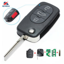Full Set Folding Remote Key Fob 1J0 959 753 F for Volkswagen Passat Golf Beetle