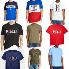 Polo Ralph Lauren Mens Tee T Shirts Crewneck V-Neck Various Colors New
