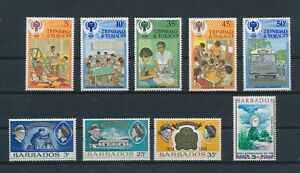LO43666 Trinidad & Tobago year of the child girl guides fine lot MNH