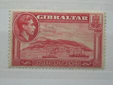 "GIBRALTAR 1938 1 1/2d CARMINE ""PERF 14"" LMM SG123 CAT £35"