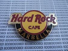 HARD ROCK CAFE MARBELLA SPAIN - ROUND CITY LOGO - MAGNET ( not bottle opener )