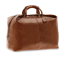 NWTs THE BRIDGE Large Leather Travel Holdall Bag Carry on current model