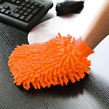 Microfiber Chenille Car Care Washing Brush Sponge Pad Cleaning Glove 7.9*5.9''