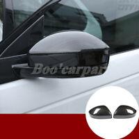 Für Discovery Sport ABS Karbonfaser-Stil Spiegelkappen Außenspiegel Rahmen 2Stk