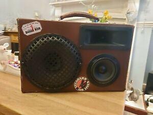 Vintage Suitcase Boombox - 50s, 60s, 70s, 80s suitcase speaker