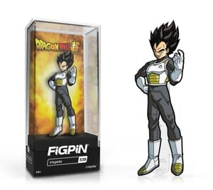 """FiGPiN- DBS Vegeta """"3"""" Pin LE 2,000 - Spastic Collectibles CONFIRMED ORDERS"""