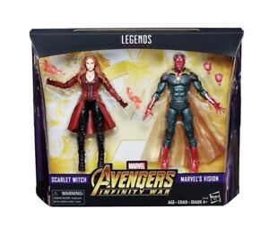 Marvel Legends Avengers Infinity War 2 Pack Scarlet Witch Vision WandaVision NEW