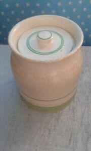 Sadler 3 Pint Lidded Storage Jar Kleen Kitchen Ware 1930s/40s