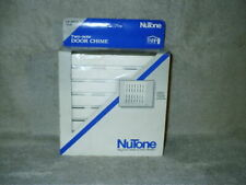 Vintage 1992 NuTone Teak 2 Note Door Chime White LB 18WH Made USA NIB