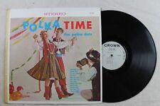 "The Polka Dots, Polka Time, Vinyl LP, Crown Records 12"" record"