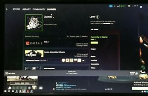 DOTA 2 ACCOUNT LEVEL 44 | OLD ACCOUNT 2014 | WALLET OFF | 1660 MMR