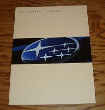 Original 2005 Subaru Full Line Sales Brochure 05 Outback Forester Impreza
