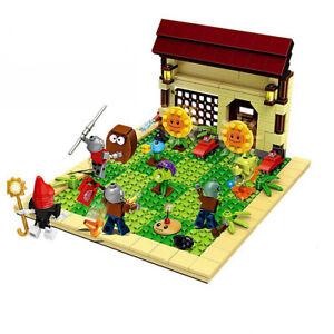 387pcs Plants vs Zombies Blocks Build Set Building Toy Stack Games