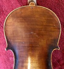 Antique Fine Old Violin 1 Piece Back French?
