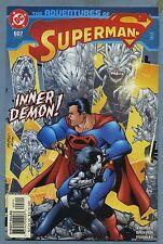 Adventures of Superman #607 2002 Jay Faerber Brandon Badeaux DC