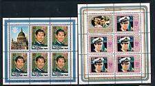 Niue 1984 Birth of Prince Harry SHEETS SG573-4  MNH