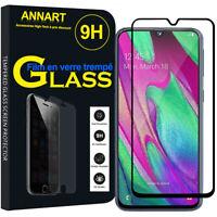"""Vitre De Protecteur d'écran Verre Trempé Samsung Galaxy A40 5.9"""" SM-A405F"""