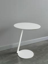 M-129 Dupen Design Beistelltisch Weiß Tisch Couchtisch Wohnzimmertisch Holz
