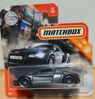 2020 Matchbox MB726 MBX 29 Audi R8 metallic grey Quattro diecast model car NEW