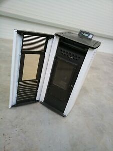 Stove heating stove from wood pallets 8kW 80m2 New