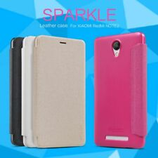 Nillkin Sparkle case PU Leather Flip Case Cover for your smartphone!