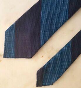 Bespoke Handmade Made To Order Grenadine Necktie Tie Italian Fabric Sevenfold