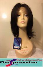 100% Real Natural Human Hair Full Lace Wig Feb Laddy -  UK SELLER