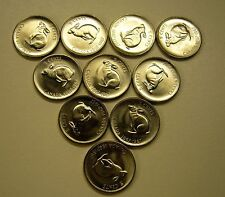 1967 Canada 5 Cent Coin Lot