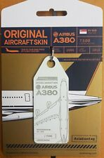 Aviationtag Singapore Airlines SQ Airbus A380-800 9V-SKB 9VSKB White MSN005 RARE