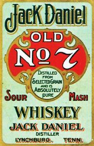 Jack Daniels old no 7 decal sticker
