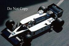 Elio De Angelis Brabham F1 Monaco GP 1986 Photograph 2