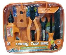 TOOL KIT PLAY SET WITH CARRY CASE HANDY PLAYSET FUN TOOLS NEW KIDS CHILDRENS TOY