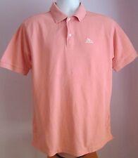 VTG Mens KAPPA Pink Collared Shortsleeved Polo Shirt Size Medium (C20)