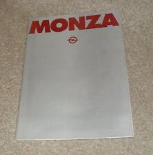 Opel Monza Brochure 1978 - 3.0 3dr Coupe - Vauxhall