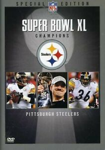Super XL Champions 2005 Pittsburgh Steelers Special Edition DVD Sealed New!